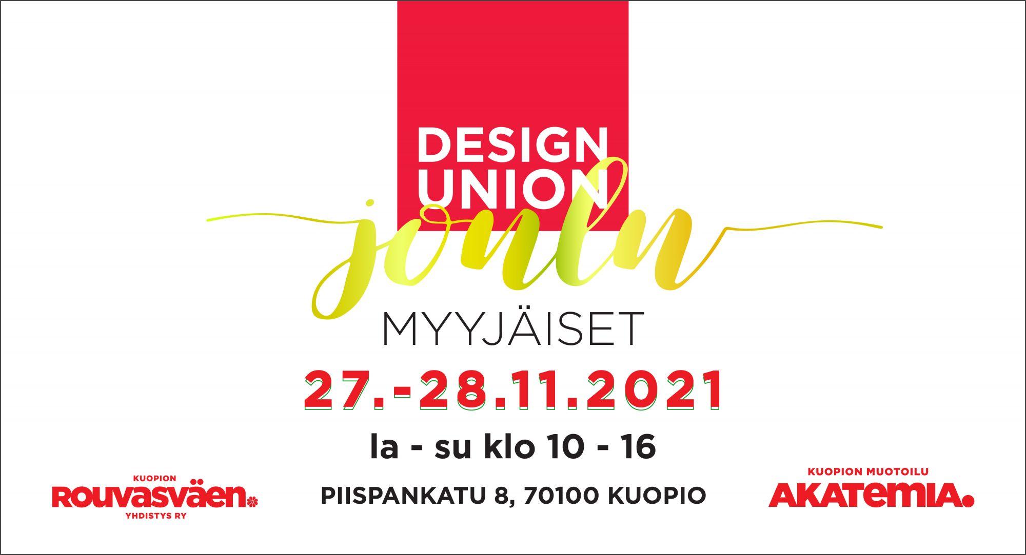 Kehykset Designjoulumyyjäiset